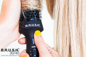 Style het haar van je klant nóg makkelijker met de B.R.U.S.H. warmte borstel! Dé perfecte tool voor in jouw salon!