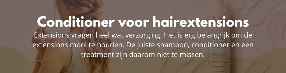Conditioner voor hairextensions