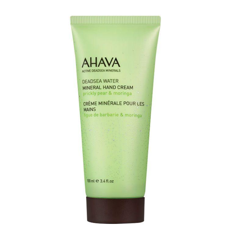 Ahava Deadsea Water Mineral Hand Cream Prickley Pear Moringa