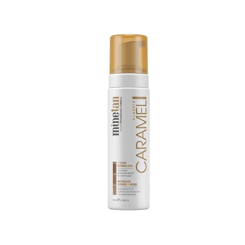 MineTan Caramel Self Tan Foam