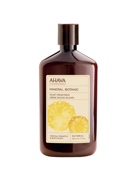Ahava Mineral Botanic Cream Wash Pineapple
