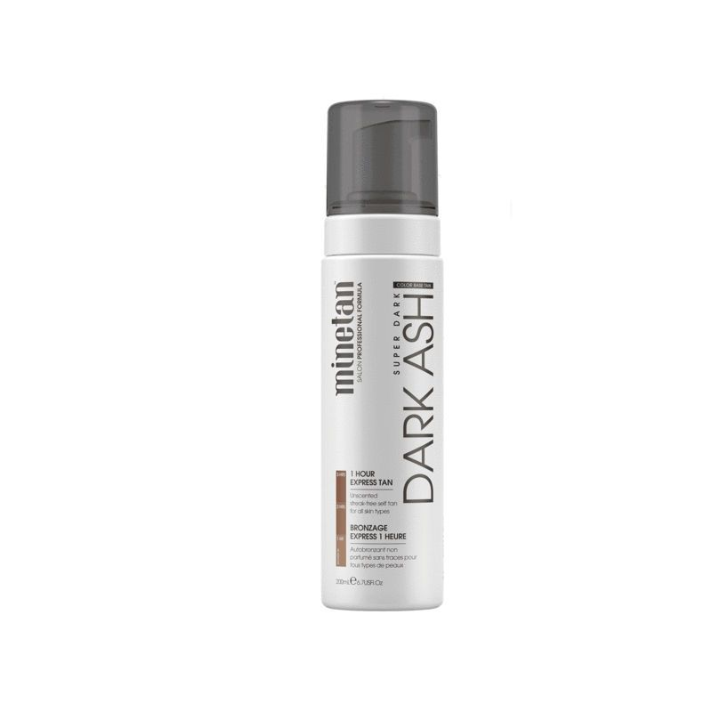 MineTan Dark Ash Self Tan Foam