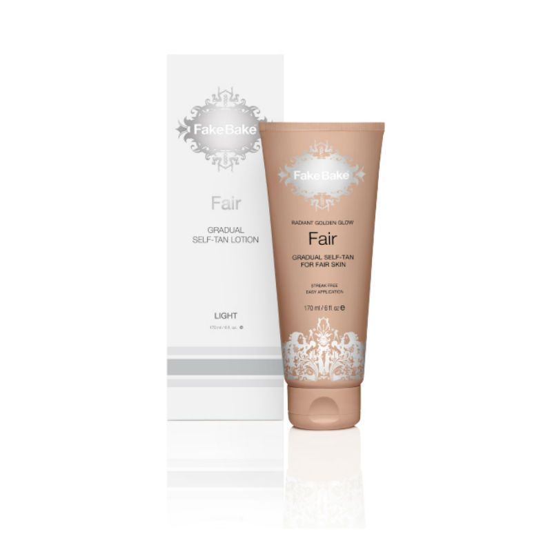 Fake Bake Fair Gradual Self-Tan Lotion for Fair Skin 170 ml
