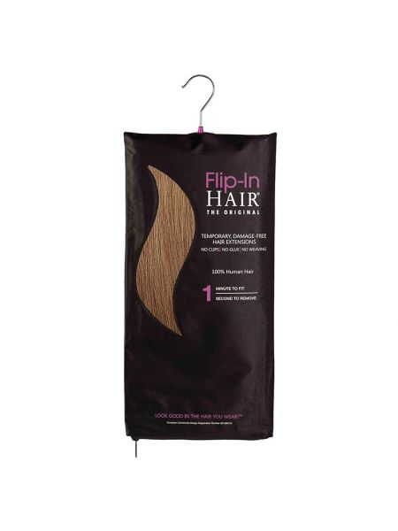 Flip-in Hair The Original Dark Cinnamon