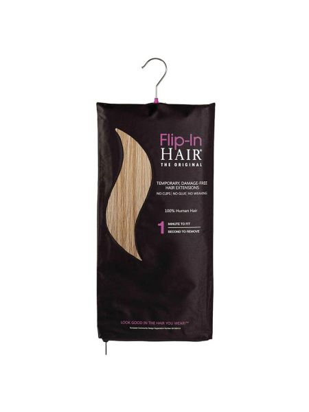 Flip-in Hair The Original Dark Cinnamon/Warm Blonde