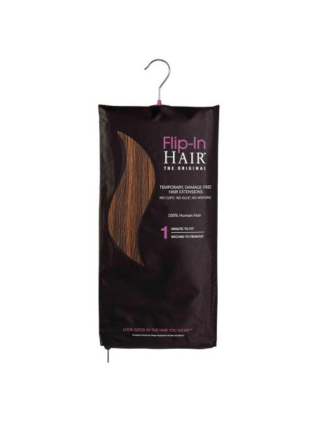Flip-in Hair The Original Rich Brown/Light Auburn
