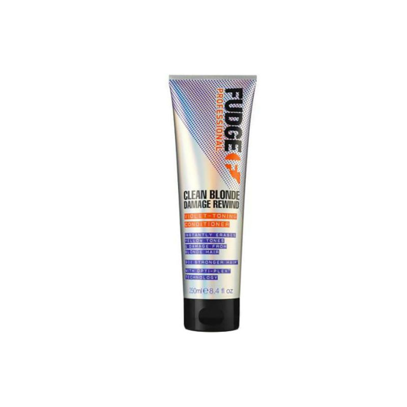 Fudge Clean Blonde Damage Rewind Violet Toning Conditioner