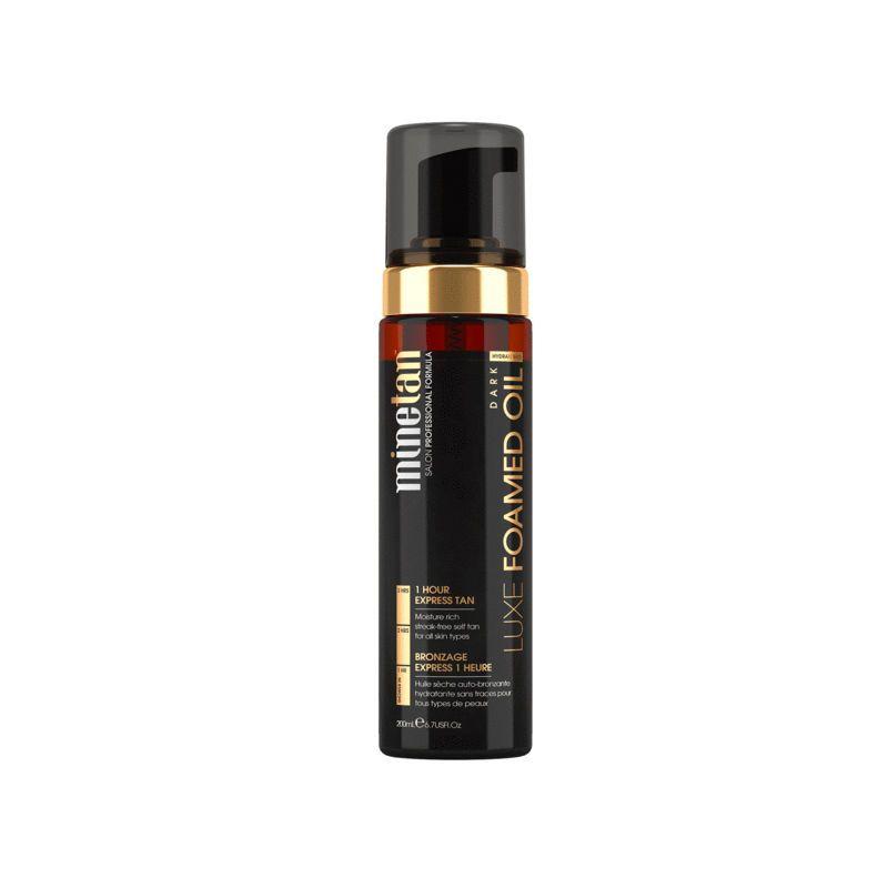 MineTan Luxe Foamed Oil Dark Self Tan