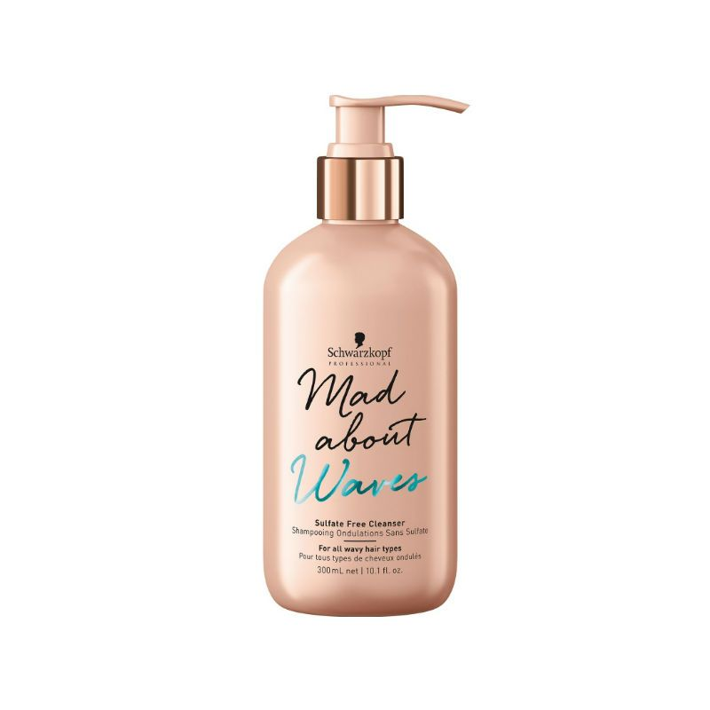 Schwarzkopf Mad About Waves Sulfaatvrije cleanser
