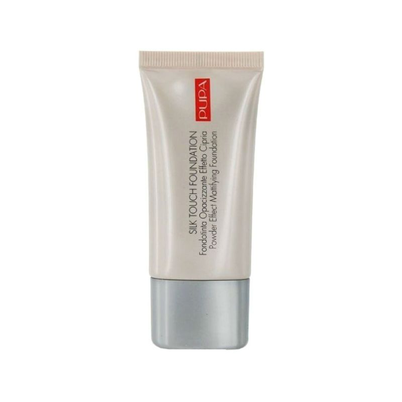 PUPA Silk Touch Foundation-01 Natural Ivory
