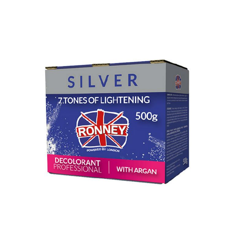 RONNEY Professional dust free bleaching powder with Argan 500 g