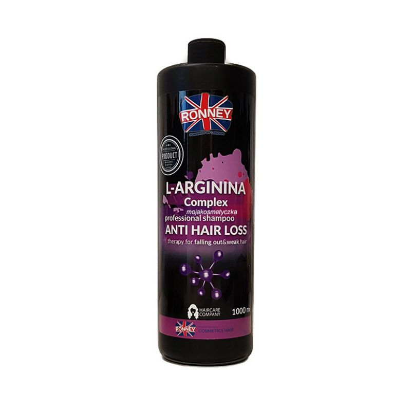 RONNEY Shampoo L-Arginina complex anti hair loss therapy