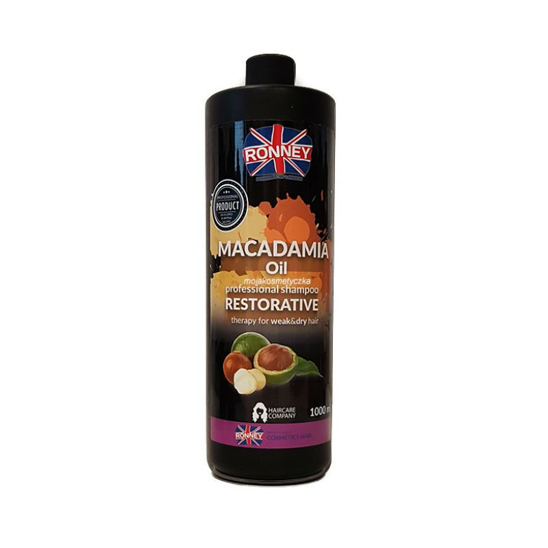 PROFESSIONAL SHAMPOO MACADAMIA OIL RESTORATIVE THERAPY FOR WEAK AND DRY HAIR 1000 ML