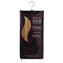 Flip-in Hair The Original Golden Brown/Butterscotch