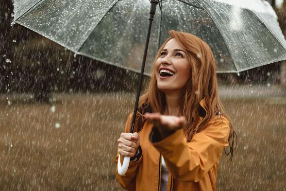 Regen? 5x musthaves voor waterproof haar!