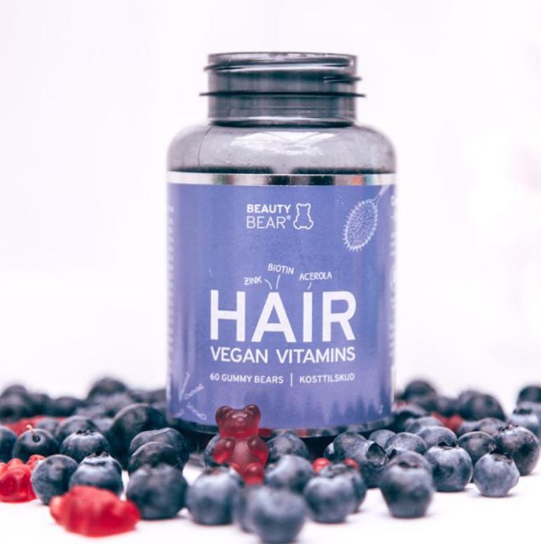 De Beauty Bear vitamines bevatten alleen natuurlijke smaak- en kleurstoffen.