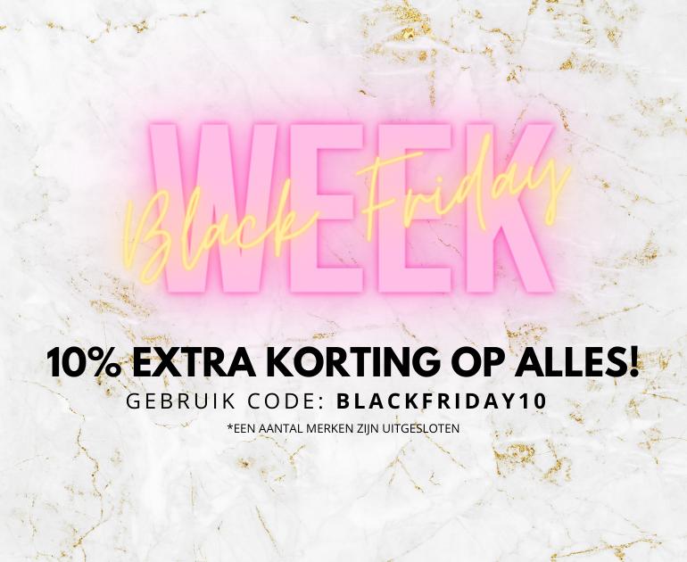 10% EXTRA KORTING OP ALLES!